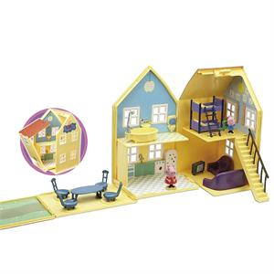 Peppa Pig La Casa Con Accesorios Bandai 84212