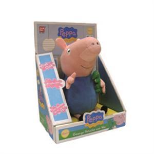 Peppa Pig peluche George con voz 28X12X19Cm Bandai 84256