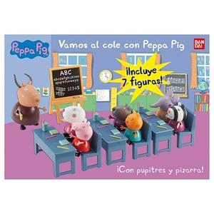 Peppa Pig Vamos al cole Bandai 84213