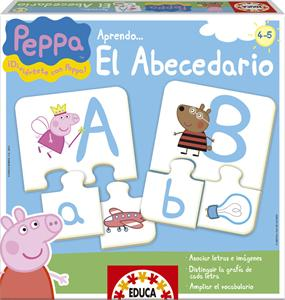 Puzzle el abecedario Peppa Pig Educa 15652