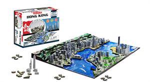 Puzzle 4D cityscape ciudad  Hong Kong 1100 piezas 40026