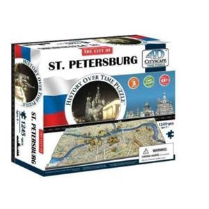 Puzzle 4D cityscape ciudad  ST. Petersburg  1245 piezas 40036