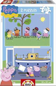 Puzzle Peppa Pig 2X20 Educa 15919