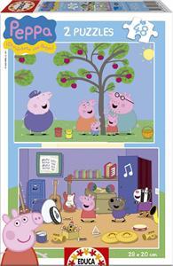 Puzzle Peppa Pig 2X48 Educa 15920