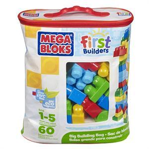 Bolsa Construcción 60 Piezas Megablocks 55DCH