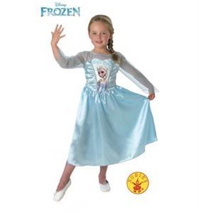 Frozen disfraz Elsa Talla L 7 A 8 años Rubies 889542-L (Disponible solo en tienda)