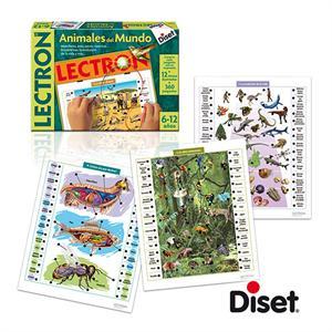 Lectron animales del mundo 6-12 años Diset 63810
