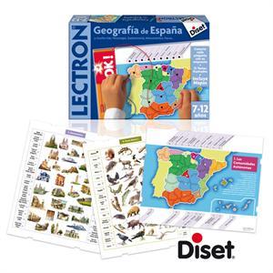 Lectron geografía de España 7-12 años Diset 63845 (63840)