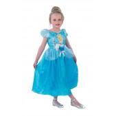 Disfraz Infantil Cenicienta Classic Talla M (5-6 Años) (Solo Disponible En Tienda) Rubies 888784-M