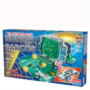 Hundir Los Barcos Electrónica Con Voz Luz Y Sonido Falomir 22004