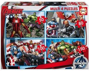 Avengers Multi 4 Puzzles Educa 16331