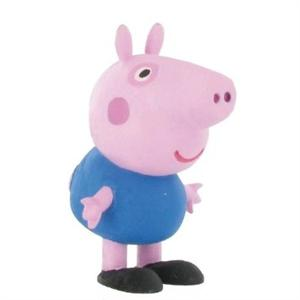 Figura Pvc George Peppa Pig Yolanda 99683
