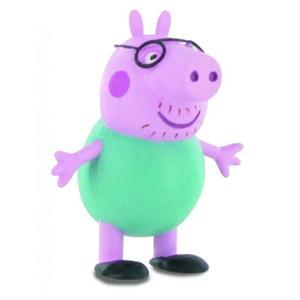 Figura Pvc Papa Peppa Pig Comansi 99682