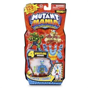Mutant Mania Blister 4 Figuras Luchadores Giochi Preziosi 80000