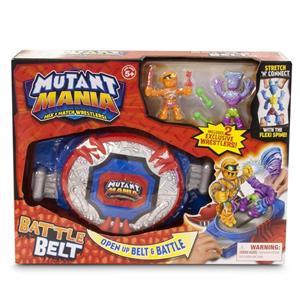 Mutant Mania Cinturón Combate Con 2 Figuras Giochi Preziosi 68002