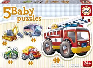 Puzzle Baby Vehículos Educa 14866