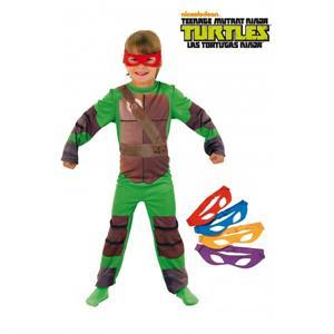 Tortugas Ninja Disfraz Infantil Talla-S 3-4 Años (Disponible Solo En Tienda) Rubies 886811-S