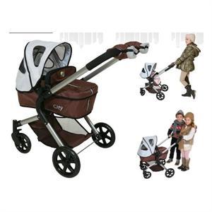 Coche muñeca 3 x 1 convertible con manoplas 72x75,48 cm Decuevas 80510