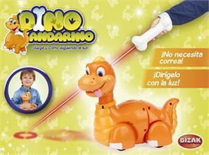 Dino Andarino dirigido por laser Bizak 221