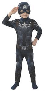 Disfraz infantil Capitán América vs classic Talla S 3 a 4 años Rubies 887752-S