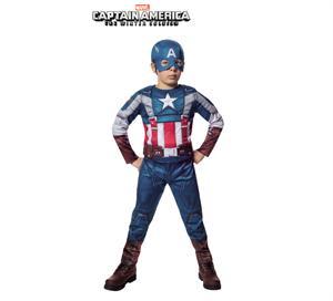 Disfraz infantil Capitán América ws retro musculoso Talla L ( 8-10 años ) Rubies 610420-L