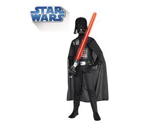 Disfraz infantil Darth Vader con mascara Talla M 5-7 años  Rubies 882009-M SOLO DISPONIBLE EN TIENDA