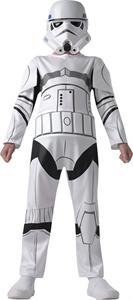 Disfraz infantil Star Wars Stormtrooper talla M 5-6 años Rubies 610485M (DISPONIBLE SOLO EN TIENDA)