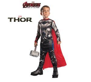 Disfraz infantil Thor Classic Avengers 2 Talla L 8-10 años ( Solo Disponible En Tienda ) Rubies 610432-L