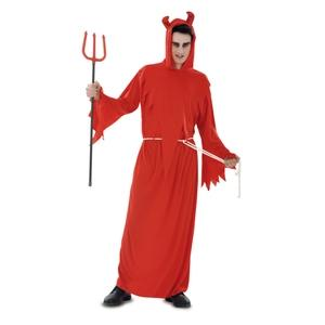 Halloween  Disfraz adulto demonio rojo talla única Llopis 40066 DISPONIBLE SOLO EN TIENDA