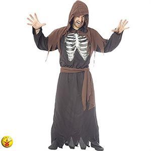 Halloween Disfraz adulto esqueleto holográfico T. única  Rubies S8115 SOLO DISPONIBLE EN TIENDA