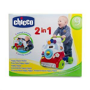 Mi primer andador correpasillos happy hippy 2 en 1 con 5 actividades Chicco 5905
