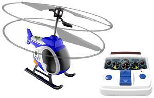 Mi primer helicoptero radio control heli station con luz led  vuelo interior + 5 años Silverlit 84703