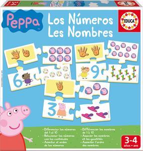 Peppa Pig los numeros Educa 16224