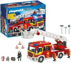 Playmobil camión de bomberos con escalera 5362