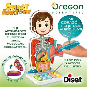 Smart juego anatomia Oregon Diset 505004
