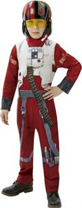 Star Wars disfraz Hero Battler EP7 classic infantil X-Wing Fighter Talla-M 5-6 años Rubies 620264-M