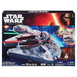 Star Wars Nave Halcon Milenario electronico Hasbro 3678