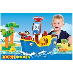 Barco pirata con 30 piezas Molto 16451
