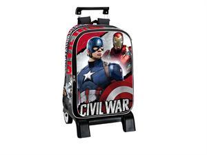 Capitán America mochila carro 42x32x14 cm Montichelvo 52663