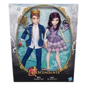 Descendants muñecos pareja Ben y Mal Hasbro B3128