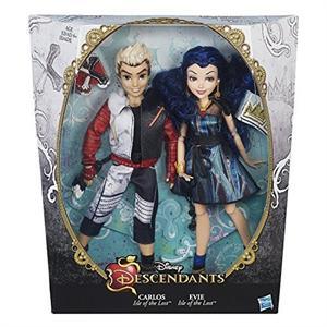 Descendants muñecos pareja Carlos y Evie Hasbro B3129