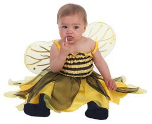 Disfraz bebé abejita talla 80 a 92 cm Creaciones Llopis 7211 DISPONIBLE SOLO EN TIENDA