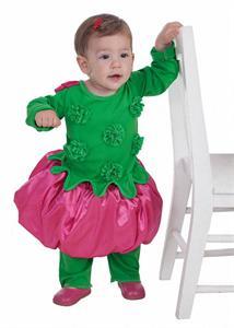 Disfraz bebé florecita talla  hasta 12 meses Creaciones Llopis 7226 DISPONIBLE SOLO EN TIENDA