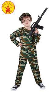 Disfraz infantil Combat soldier talla L 8-10 años Rubies 8316L (SOLO DISPONIBLE EN TIENDA)