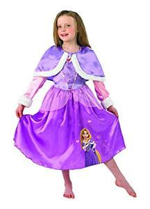 Disfraz infantil Rapunzel Winter talla M 5-6 años Rubies 889546M (SOLO DISPONIBLE EN TIENDA)