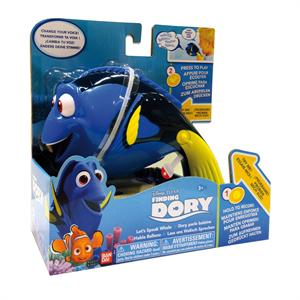 Disney Pixar Finding Buscando a Dory habla balleno Bandai 36470