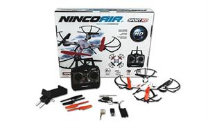 Drone NincoAir sport camara integrada 4 canales 2.40 GHZ bateria 90089