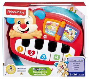 Fisher Price Piano Aprendizaje con 2 modos de juego Mattel 24DLD