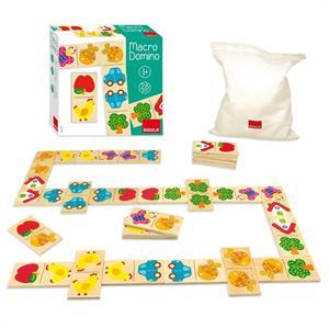 Goula Domino Madera Macro 28 piezas Diset 53327
