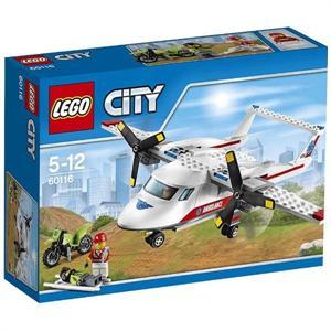Lego City Avión médico 60116